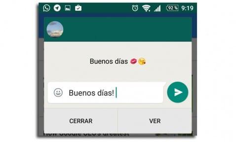 WhatsApp respuestas rápidas