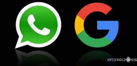 WhatsApp Google Fotos
