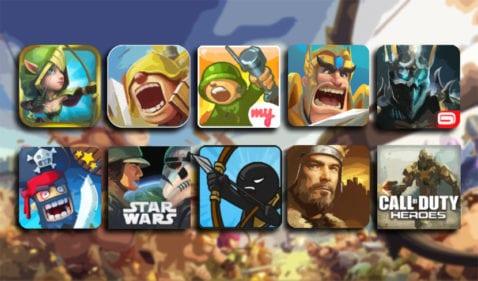 Mejores juegos tipo Clash of Clans