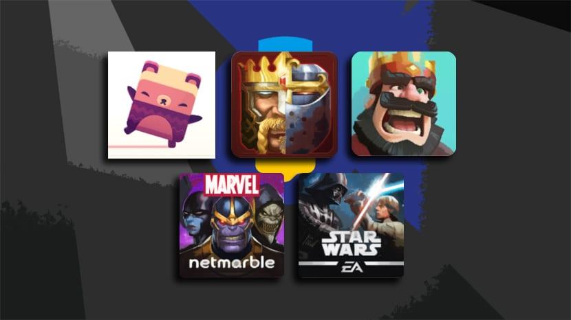 Nominados mejor juego