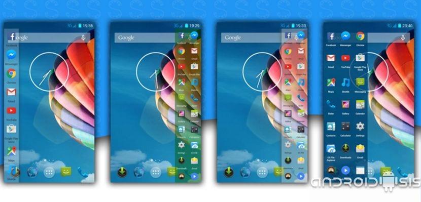 Cómo disfrutar de las funciones de la barra lateral del Samsung Galaxy S7 Edge en cualquier Android