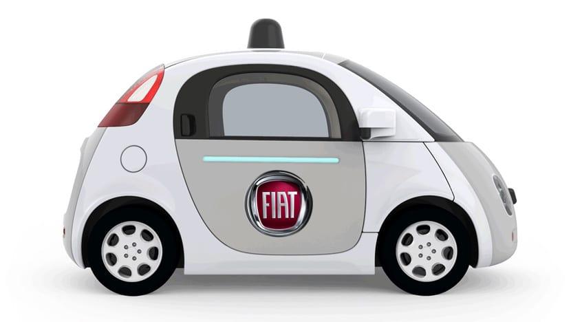 Coche autónomo Fiat