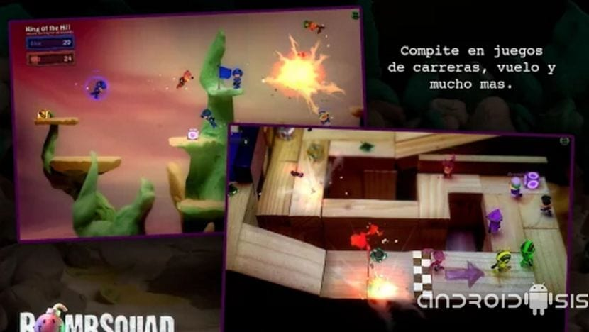 BoombSquad, divertidos combates multijugador para Android a base de bombas