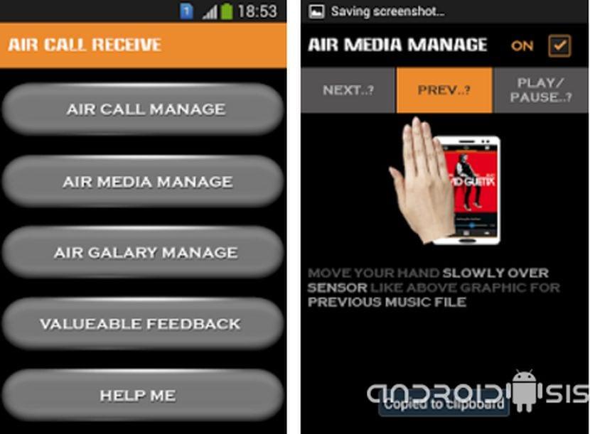 Cómo utilizar el sensor de proximidad para controlar Android: Control de música, galería y gestión de llamadas