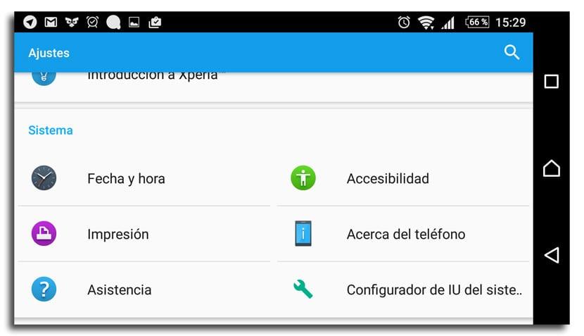 Configurador secreto Android
