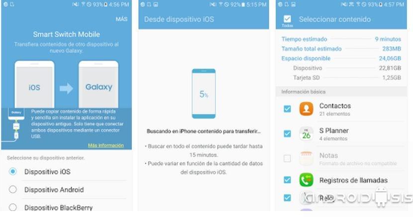 Cómo hacer copia de seguridad de tu Samsung usando Smart Switch