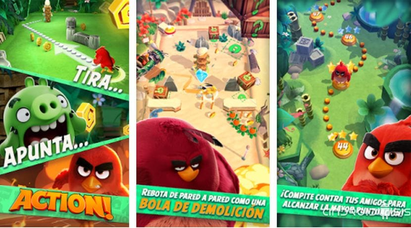 Descarga ya Angry Birds Action, lo nuevo de Rovio ya disponible gratis en el Play Store de Google