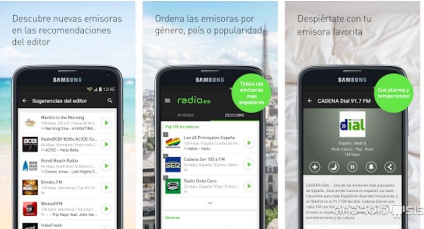 Radio.es, la nueva forma de escuchar la radio a través de tu Android