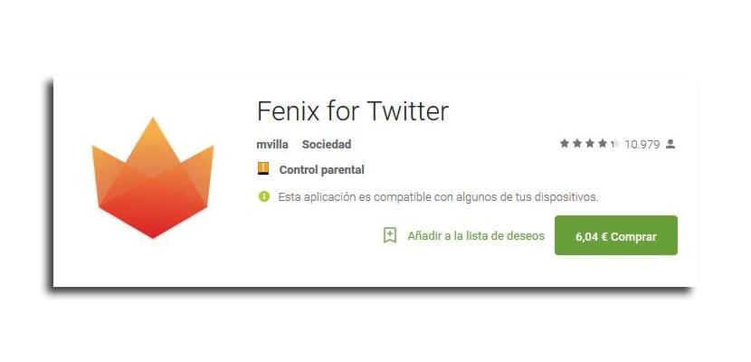 Fenix for Twitter
