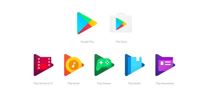 Google Play nuevos iconos