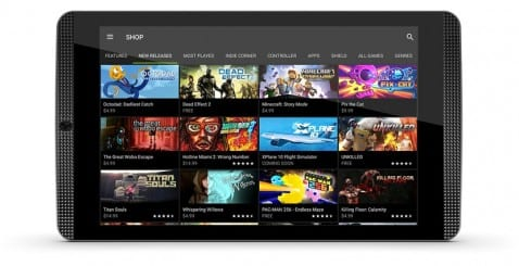 NVIDIA tablet Shield K1