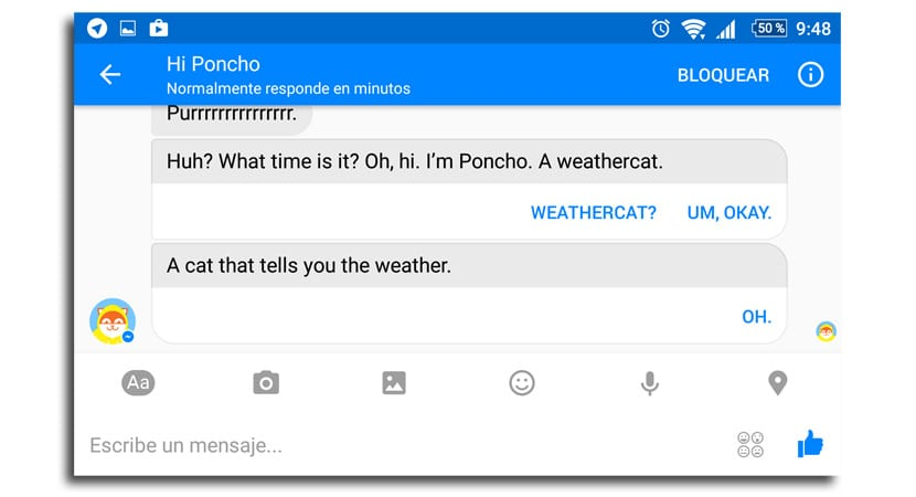 Messenger Poncho