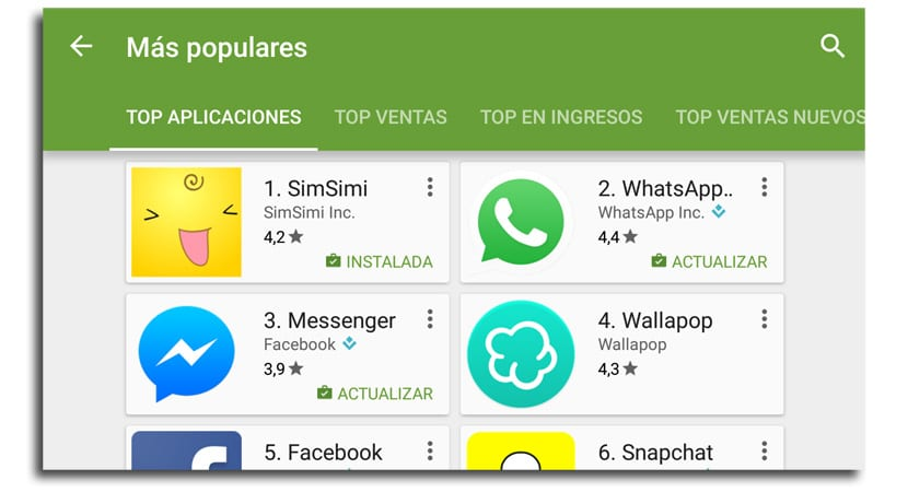 Top descargas