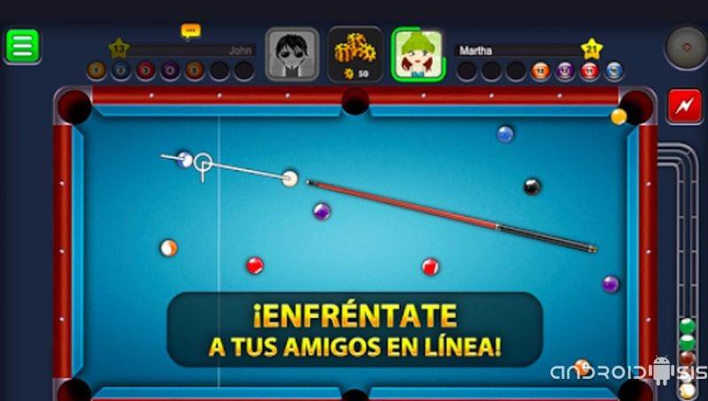 8 Ball Pool, descarga ya el mejor juego online de billar americano para Android