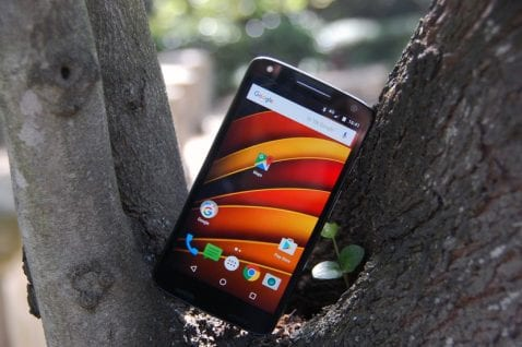 Motorola Moto X Force frontal