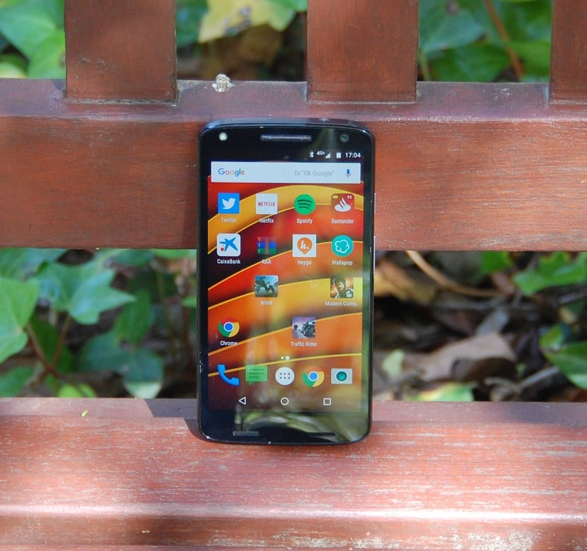 Moto X Force frontal