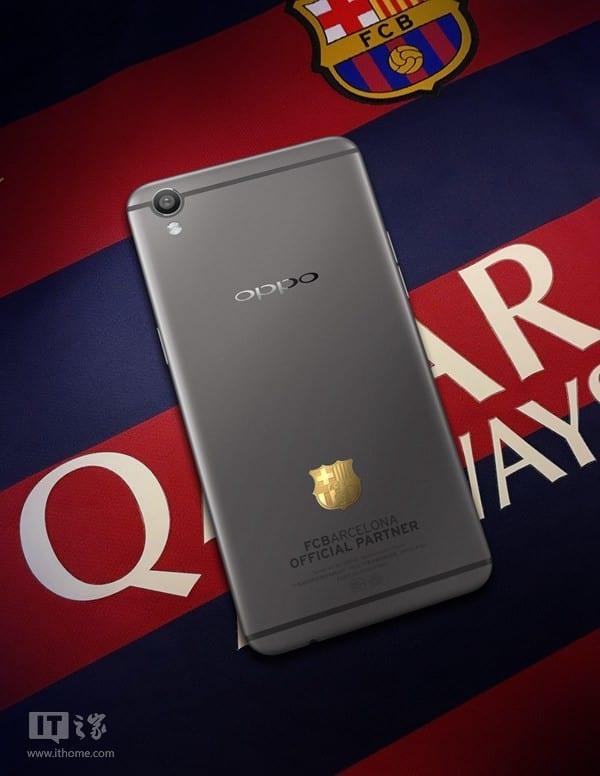 Oppo R9 F.C Barcelona
