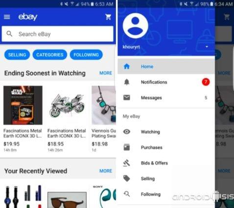 [APK] Descarga ya la nueva y renovada aplicación de Ebay para Android