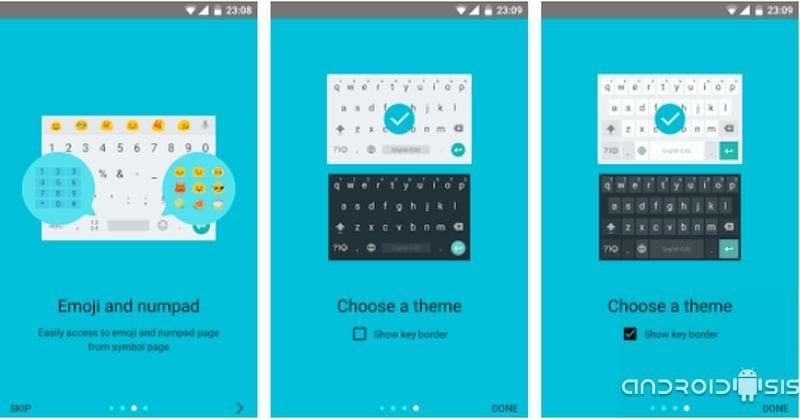 [APK] Descarga ya el nuevo Teclado de Google de Android N
