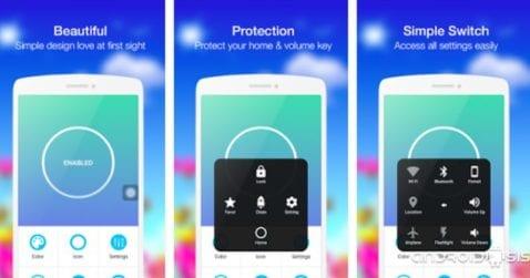 Assistive Touch, añade un botón flotante virtual a tu Android