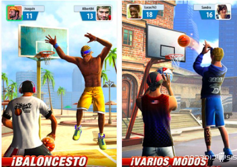 Basketball Stars, un sensacional juego de basket para Android