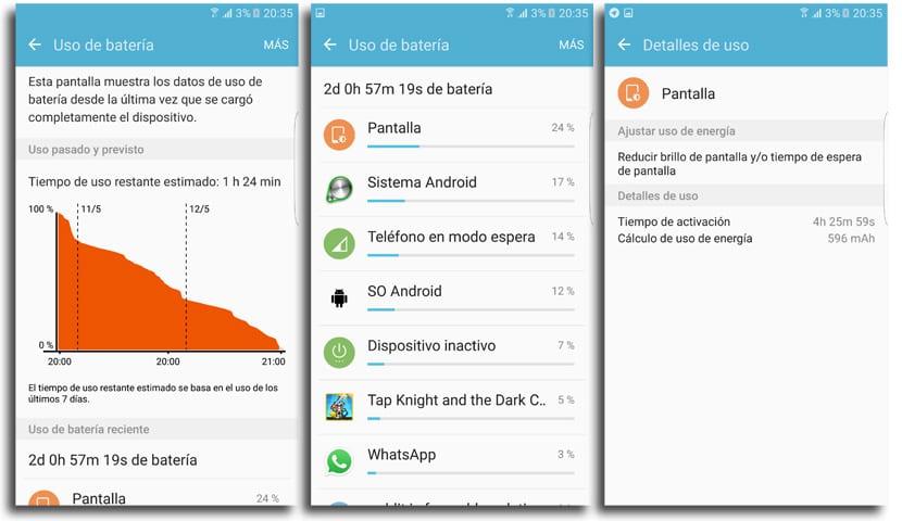 Galaxy S7 edge batería
