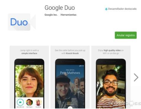 Consigue antes que nadie las nuevas Apps de Google Duo y Google Allo