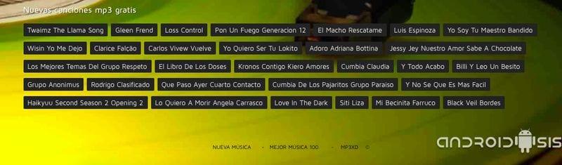 Descargar música gratis mp3