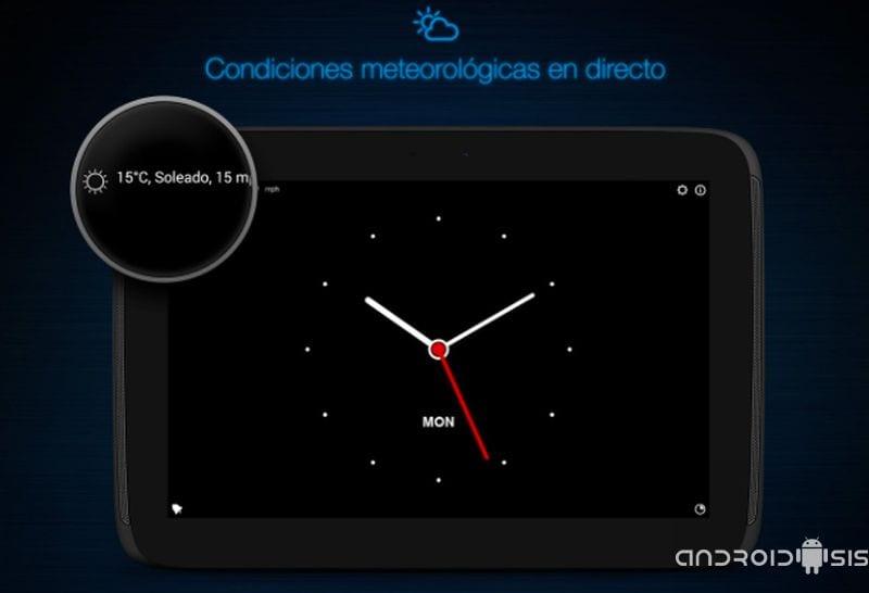 Oferta de la semana de Google Play, Mi despertador, un reloj de noche para tu Android por tan solo 0,10 Euros