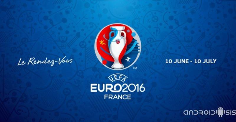 Todo lo que debes conocer acerca de la Eurocopa 2016 lo sabrás con la aplicación oficial para Android