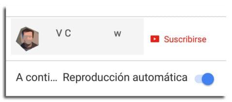 Cómo desactivar reproducción automática vídeos