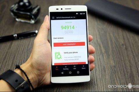 ¿Cual es el Smartphone que puntúa 95000 puntos en AnTuTu y cuesta tan solo 200 Euros?