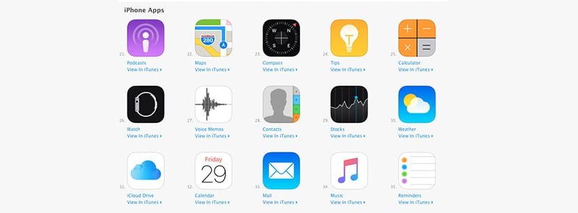Apps de Apple