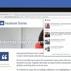 Guardar en FaceBook Chrome