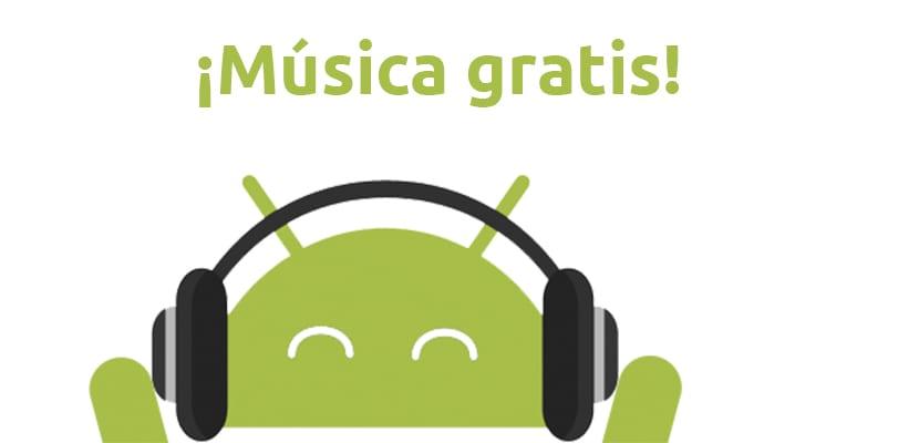 Aplicacoines para descargar música gratis en Android