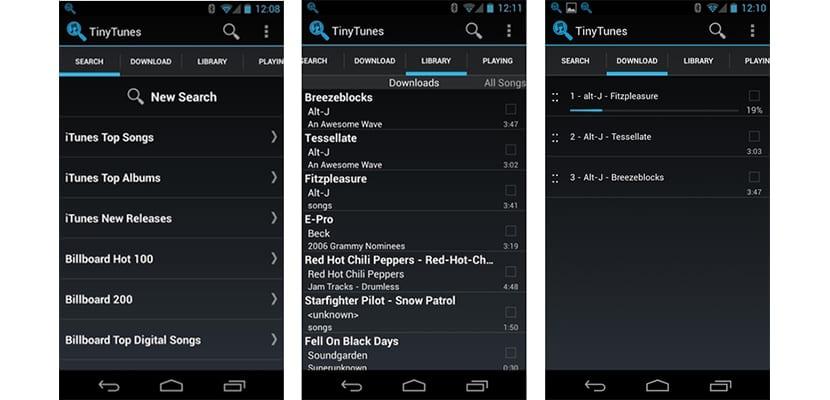 Tinytunes descargar música