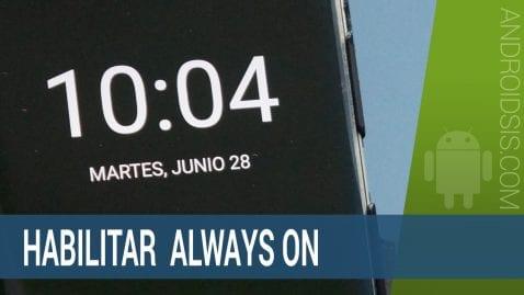 Always On en cualquier Android