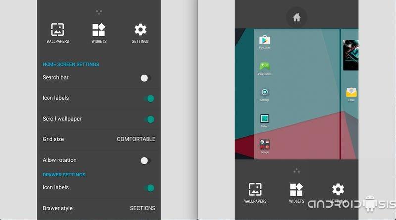[APK] Trebuchet Launcher, descarga en instala el Launcher de CM13 en cualquier Android sin necesidad de ROOT