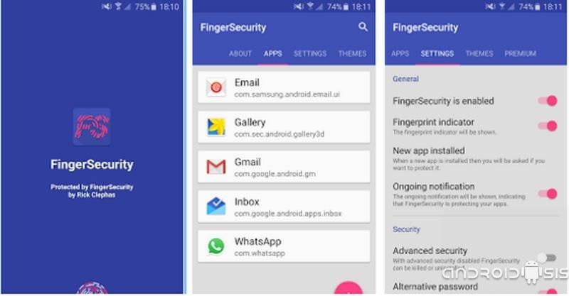 Cómo bloquear Apps mediante el lector de huellas dactilares de tu Android