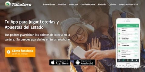 Cómo jugar a la lotería nacional de manera segura desde tu Android. (Bonoloto, Primitiva, Euro Millones, La Quiniela,)