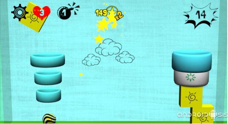 Tigerball, un juego sencillo y adictivo para Android