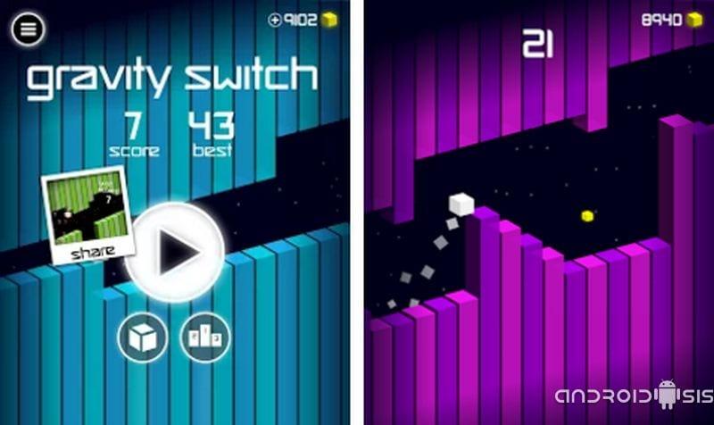 Gravity Switch, el juego imposible de Ketchapp