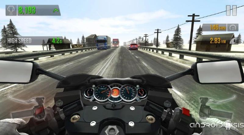 Descarga ya Traffic Rider, uno de los mejores juegos de simulación en el que sentiremos el placer de conducir una moto a toda velocidad
