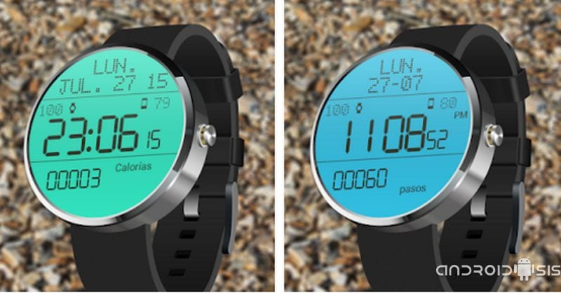 El mejor skin de reloj para Android Wear