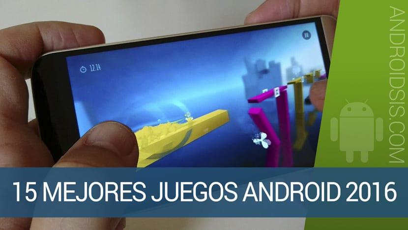 15 mejores juegos Android 2016