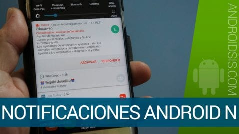 Notificaciones en Android N