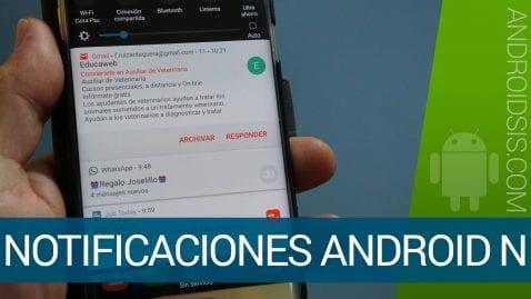 Notificaciones en Android N