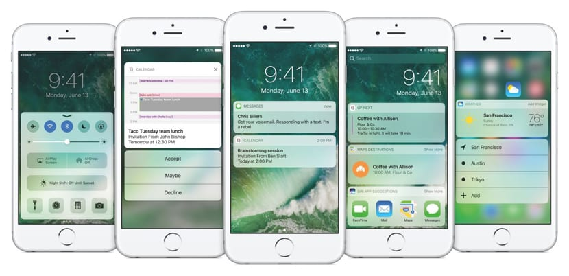 Notificaciones iOS 10