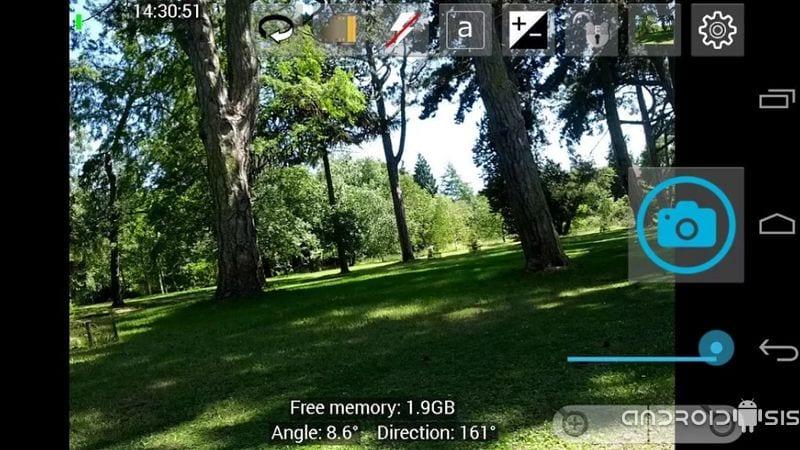 Open Cámara, una cámara de fotos para Android Open Source con muchas opciones de configuración