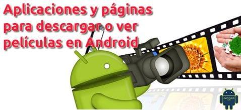 descargar películas en Android